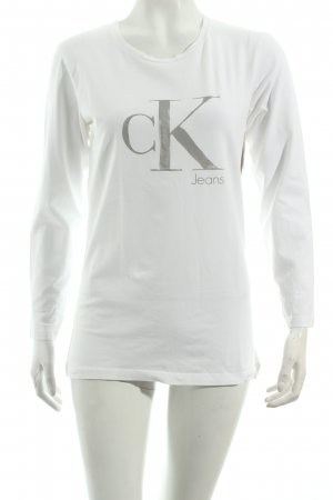 Calvin Klein Jeans Shirt weiß Casual-Look