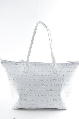 Calvin Klein Jeans Shopper wit-grijs straat-mode uitstraling