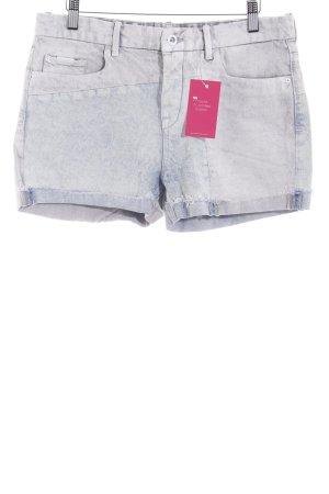 Calvin Klein Jeans Shorts himmelblau Casual-Look