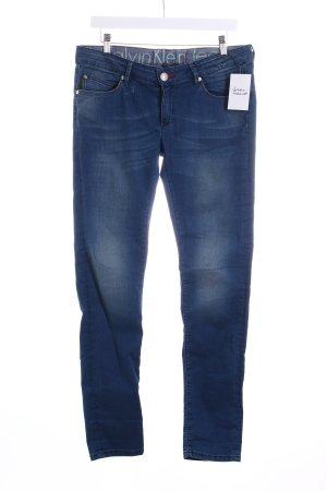 Calvin Klein Jeans Skinny Jeans blau klassischer Stil