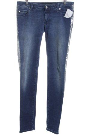 Calvin Klein Jeans Skinny Jeans blau-silberfarben Casual-Look