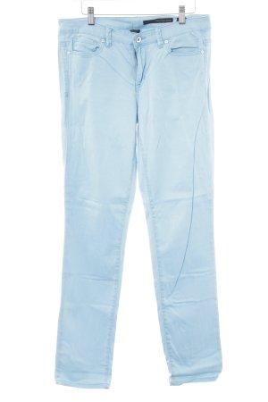 Calvin Klein Jeans Skinny Jeans hellblau Metallknöpfe