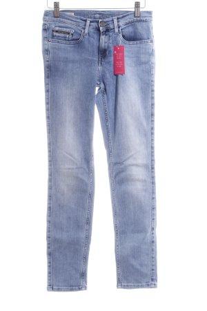 Calvin Klein Jeans Skinny Jeans hellblau-stahlblau Casual-Look