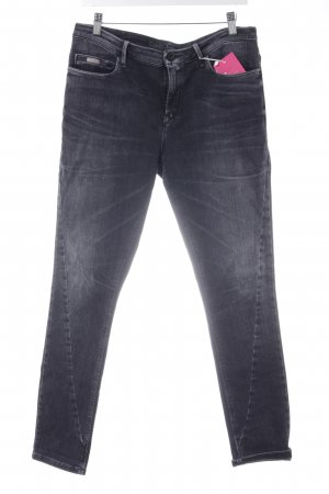 Calvin Klein Jeans Slim Jeans anthrazit Casual-Look