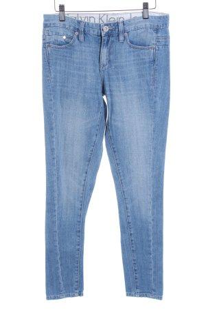 Calvin Klein Jeans Slim Jeans himmelblau Jeans-Optik