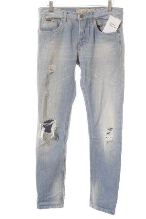 Calvin Klein Jeans Slim Jeans kornblumenblau Casual-Look