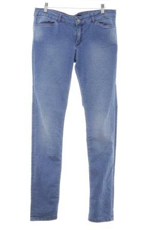 Calvin Klein Jeans Slim Jeans kornblumenblau Washed-Optik