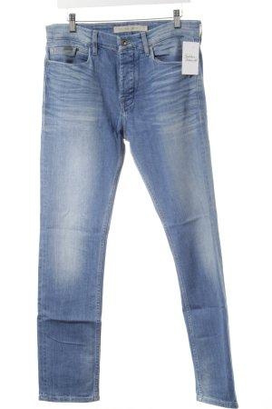 Calvin Klein Jeans Slim Jeans stahlblau Casual-Look