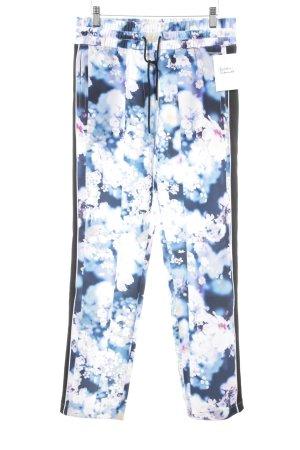 Calvin Klein Jeans Stoffhose Blumenmuster Casual-Look