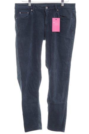 Calvin Klein Jeans Stoffhose dunkelblau Casual-Look