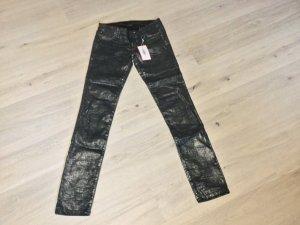 Calvin Klein Jeans Stoffhose mit feinem Glanz