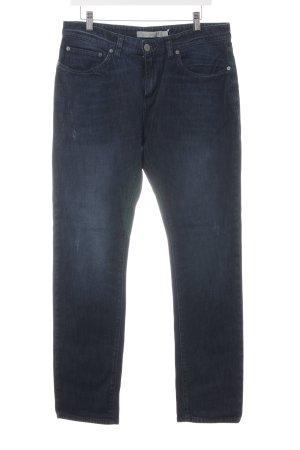 Calvin Klein Jeans Straight-Leg Jeans blau Casual-Look