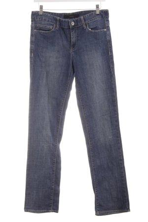 Calvin Klein Jeans Jeans a gamba dritta blu stile casual