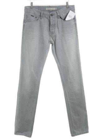 Calvin Klein Jeans Straight-Leg Jeans grau Casual-Look