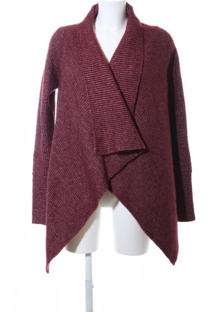 Calvin Klein Jeans Strick Cardigan rot meliert Casual-Look