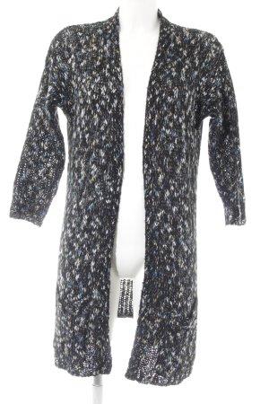 Calvin Klein Jeans Strick Cardigan Farbtupfermuster Casual-Look