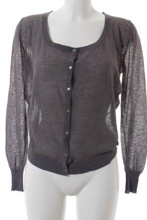 Calvin Klein Jeans Strick Cardigan grau schlichter Stil