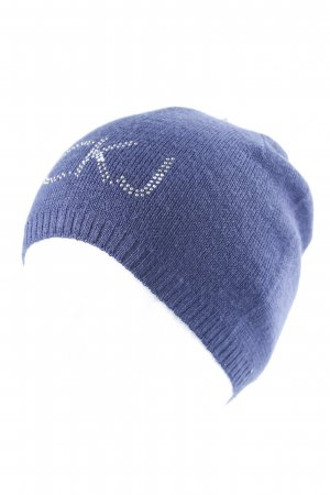 Calvin Klein Jeans Knitted Hat blue glittery