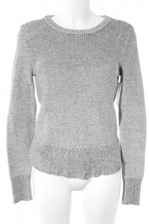 Calvin Klein Jeans Strickpullover hellgrau Casual-Look