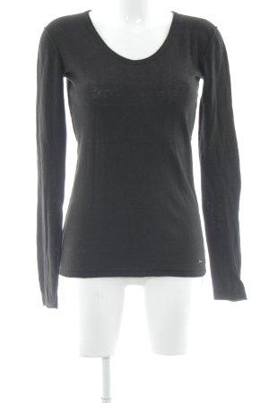 Calvin Klein Jeans Strickpullover schwarz Casual-Look