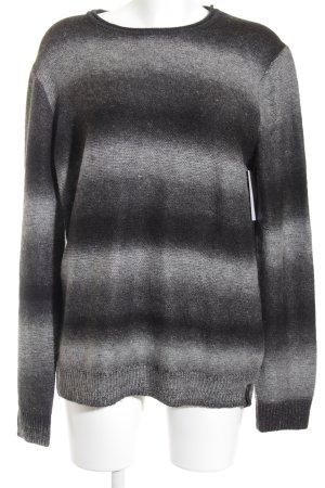 Calvin Klein Jeans Strickpullover schwarz-grau Casual-Look