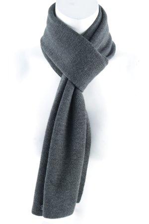 Calvin Klein Jeans Sciarpa lavorata a maglia grigio stile casual