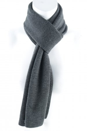 Calvin Klein Jeans Strickschal grau Casual-Look