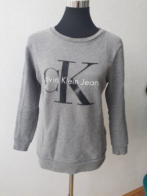 Calvin Klein Jeans Sweater Grau Größe XS