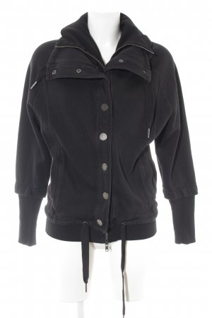 Calvin Klein Jeans Sweatjacke schwarz Casual-Look