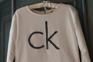 Calvin Klein Jeans Suéter crema Algodón