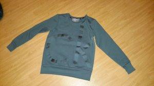 Calvin klein Jeans Sweatshirt inder Farbe Petrol in Größe XS