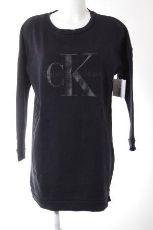 Calvin Klein Jeans Sweatshirt schwarz Street-Fashion-Look