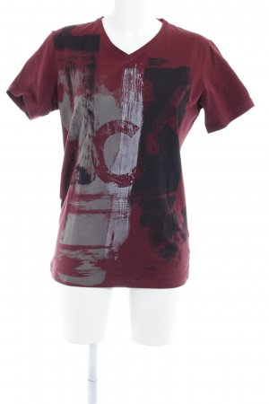 Calvin Klein Jeans T-shirt abstract patroon casual uitstraling