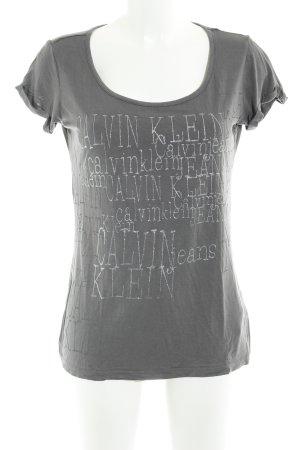 Calvin Klein Jeans T-Shirt dunkelgrau sportlicher Stil