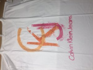 Calvin Klein Jeans T-Shirt glitzer -SONDERPREIS-