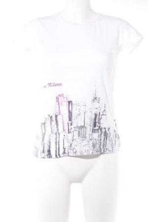 Calvin Klein Jeans T-Shirt mehrfarbig Casual-Look