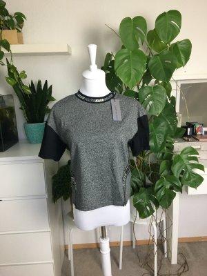 Calvin Klein Jeans T-Shirt mit Metallic Aufdruck S/36