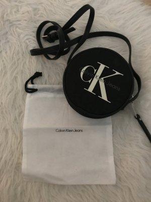 Calvin Klein Mini sac noir-blanc