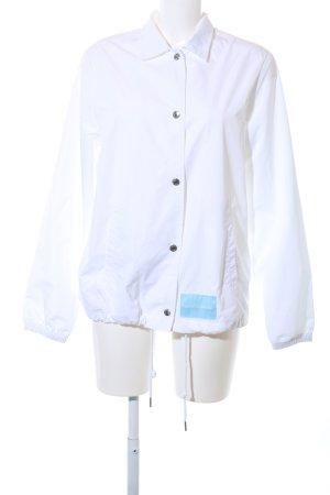 Calvin Klein Jeans Windbreaker white printed lettering casual look