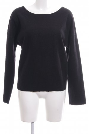 Calvin Klein Jeans Jersey de lana negro look casual