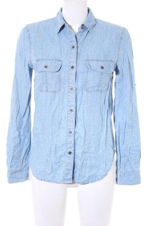 Calvin Klein Jeanshemd himmelblau Casual-Look