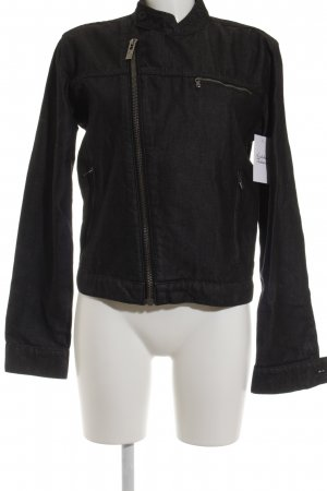 Calvin Klein Jeansjacke schwarz Casual-Look, mit Etikett