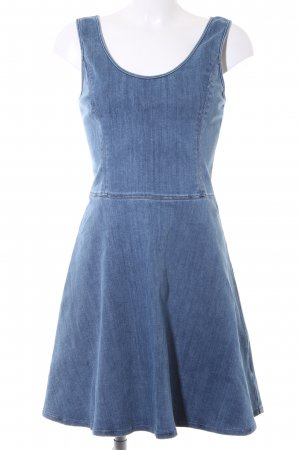 Calvin Klein Denim Dress cornflower blue street-fashion look