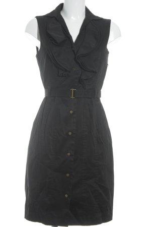 Calvin Klein Jerseykleid schwarz Business-Look