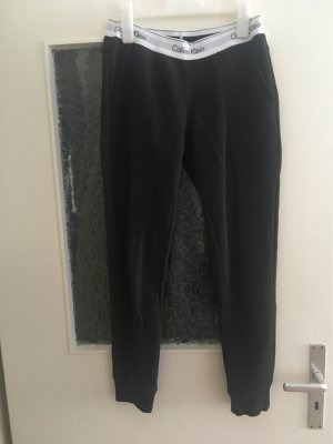 Calvin Klein Low-Rise Trousers black-white