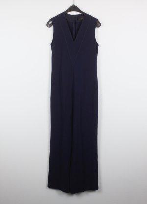 Calvin Klein Tuta blu scuro Tessuto misto