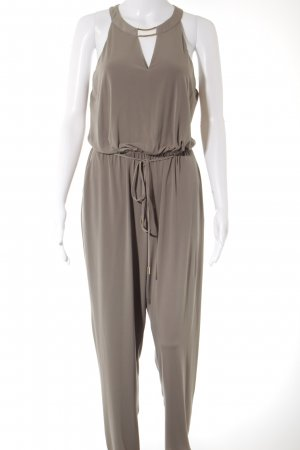 Calvin Klein Jumpsuit graubraun schlichter Stil