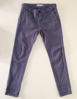 Calvin Klein Kargo Hose in grauviolett, Größe 26 (34)