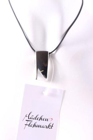 Calvin Klein Kette schwarz-silberfarben minimalistischer Stil