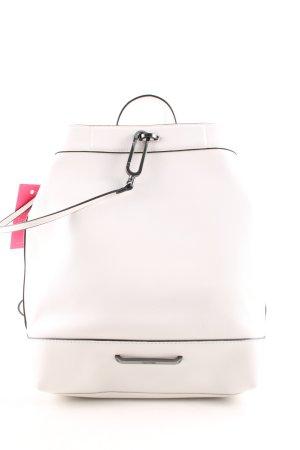 Calvin Klein Mini sac à dos blanc cassé élégant